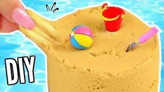4 DIY Summer Slimes! Pool Party, Beach Sand Slime, Jell-O Slime & More!