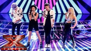 Only The Young sing Jailhouse Rock/Twist and Shout | Live Week 1 | The X Factor UK 2014