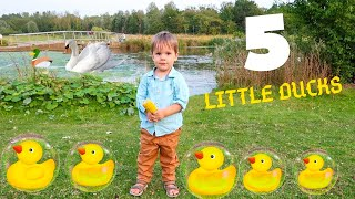 Five Little Ducks Went Swimming One Day FUN family time