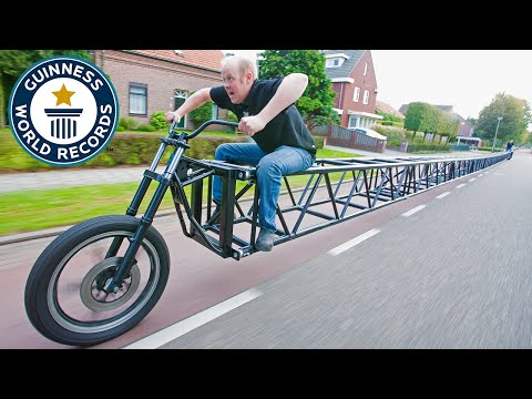 Thumbnail: Longest bicycle - Guinness World Records