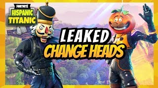 *LEAKED* FORTNITE SKIN CUSTOMIZATION HEAD BLINGS GAMEPLAY - Fortnite Battle Royale