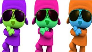 Learn Colors with POCOYO  for kids fun clip for children