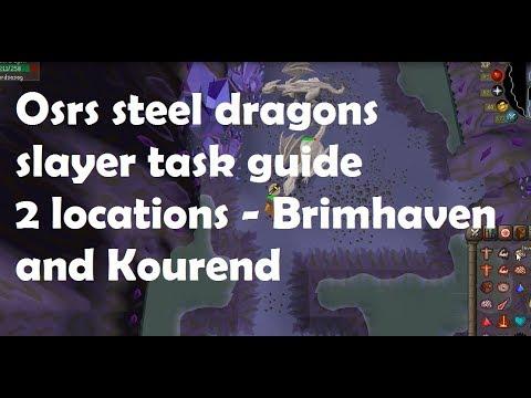 Osrs steel dragons slayer task guide : 2007scape