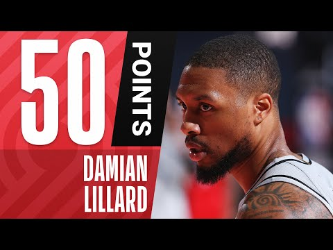 ⌚Damian Lillard GOES OFF For 50 POINTS On 20 SHOTS ⌚
