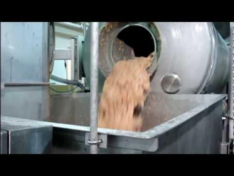 FPEC Corp. Vacuum Tumbler Unloading