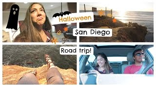 Road trip, San Diego, what I did for Halloween, & USC fraternity house tour | College Weekly Vlog