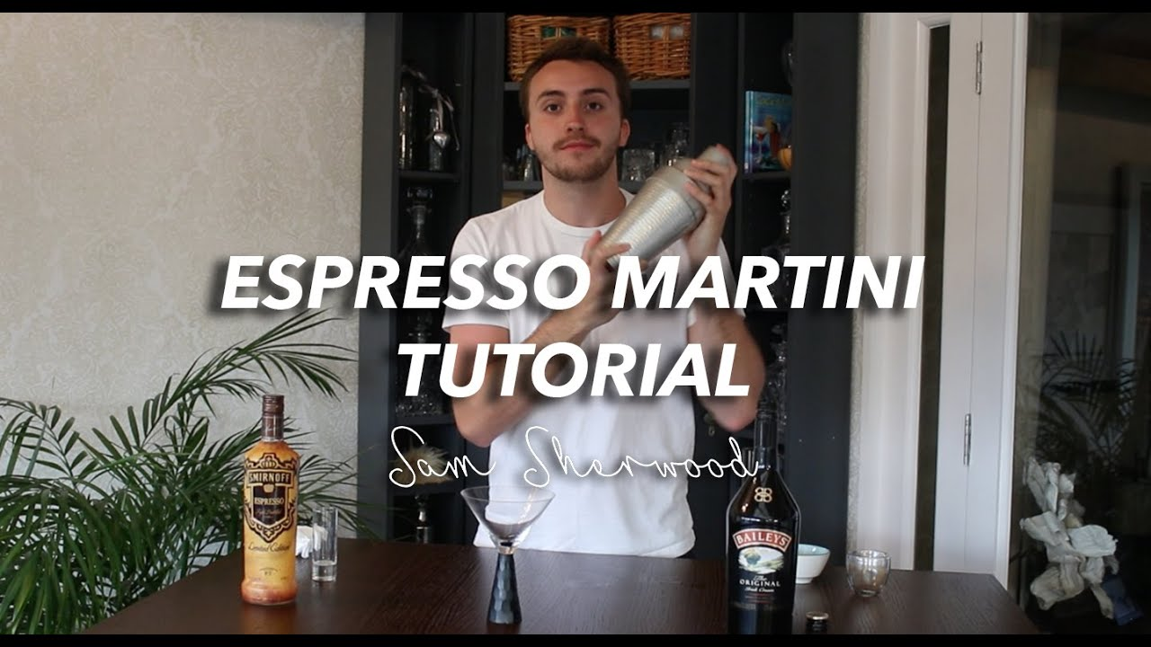 How to make THE BEST ESPRESSO MARTINI at home! | FLAT WHITE MARTINI TUTORIAL