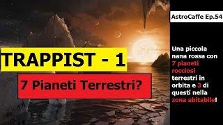 I 7 Pianeti di TRAPPIST-1 - Scoperta ed Approfondimenti | AstroCaffe Ep.54