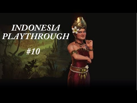 Civilization VI Indonesia Playthrough Episode 10 (Our Citizens Will Live In Luxury!)