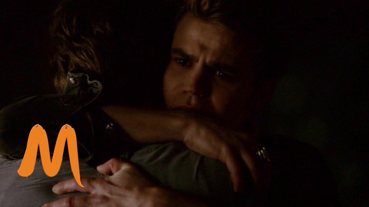 The Vampire Diaries - Stefan hugs Damon (Season 6 Episode 5)