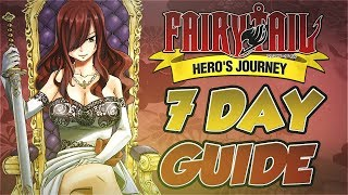Fairy Tail Online Hero's Journey | New Server Survival Guide