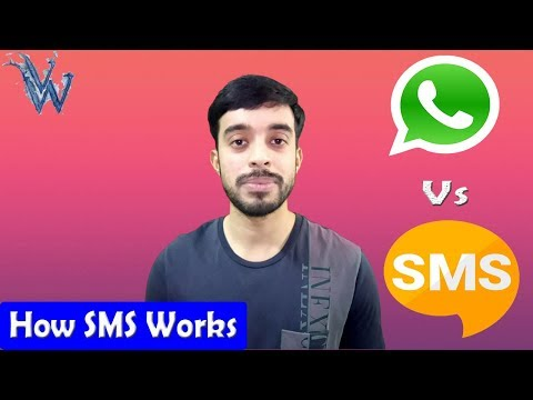 How sms works | Better than whatsapp ? Short message service By Amazing Techno Tutorials
