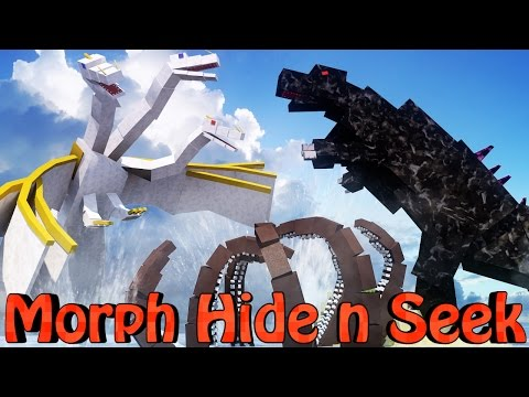 Minecraft Mods | MORPH HIDE AND SEEK - CRAZYCRAFT BOSSES! (Orespawn Mod, CrazyCraft)