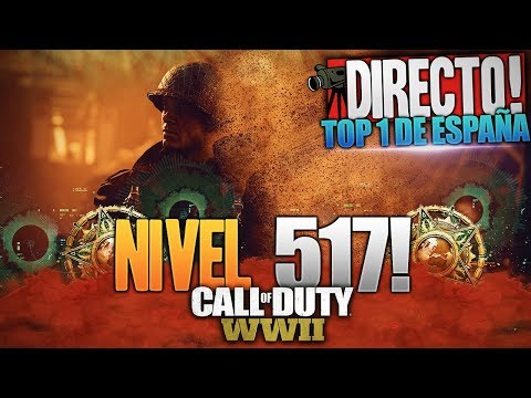 NIVEL 517 MASTER PRESTIGE | TOP 1 DE ESPAÑA Y LATAM | CALL OF DUTY: WW2