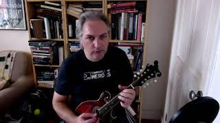 The Brosna (slide) on mandolin