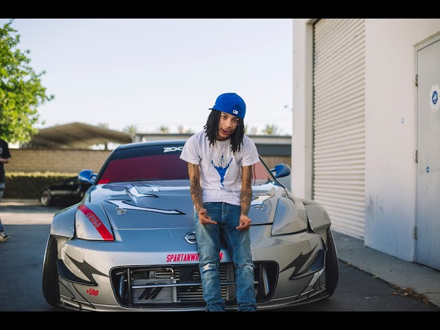 YBN Nahmir Drops Off His 350Z!