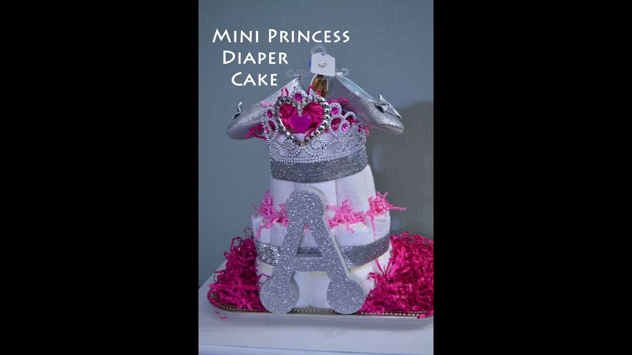 Princess Nappy Cake
