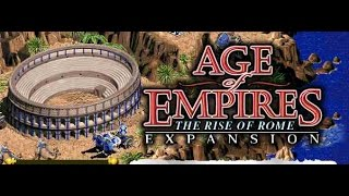 Age of Empires The Rise of Rome Gameplay + Cheats