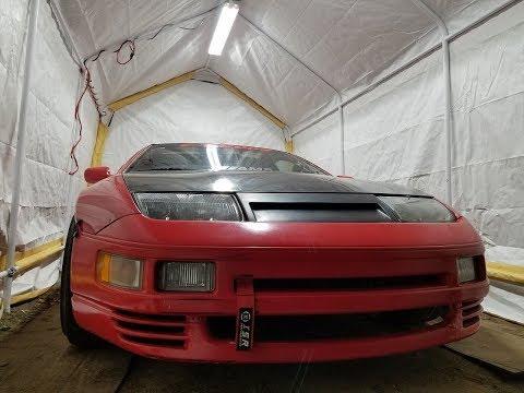 Build A Garage For 200 Dollars!!!
