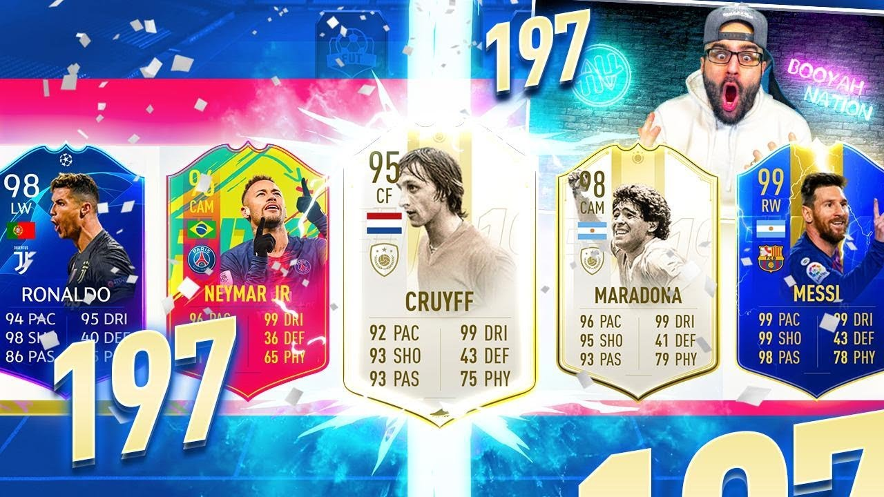 197 RATED! HIGHEST RATED FUT DRAFT EVER CHALLENGE!! FIFA 19 Ultimate Team thumbnail