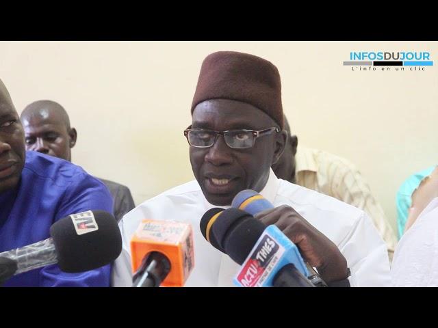 Thies  :les militants et sympathisants  du Parti Rewmi  en phase avec Idrissa Seck