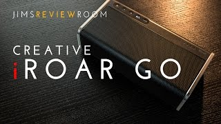 Creative iRoar Go - REVIEW (and compared to JBL Charge 3)