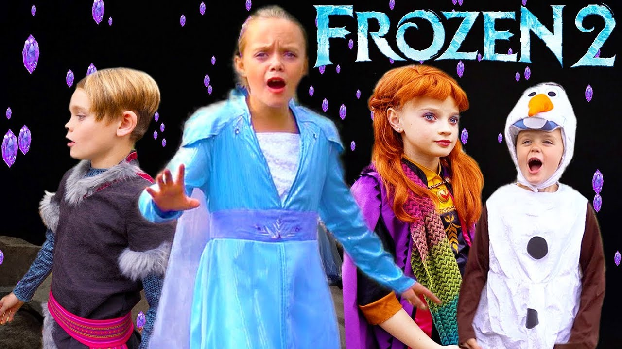 Download Frozen 2, Elsa and Anna Search For the Mystery of Elsa's Powers
