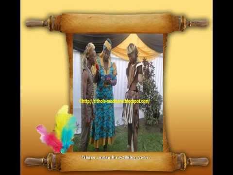 Traditional gay wedding
