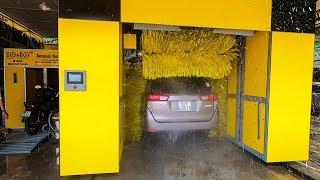 Người Việt chế tạo máy rửa ô tô tự động hiện đại nhất Việt Nam