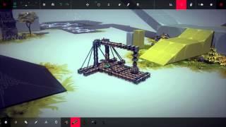 Walking Spider Bots | Mclaren F1 | Besiege Alpha Sandbox