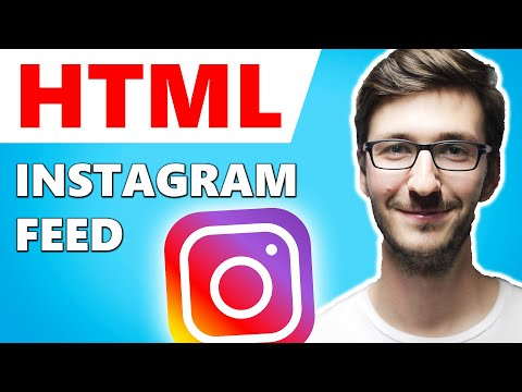 How To Add Instagram Feed To HTML Website (SIMPLE)