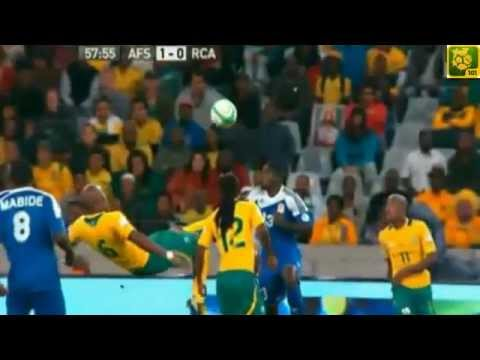 GreatGreaGreat Kung-Fu Kick with Kagisho Dikgacoi _South Africa 1-0 Central Afican Republic 2013