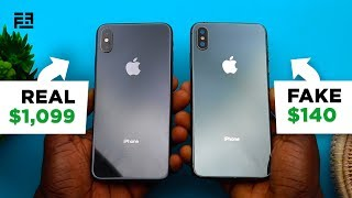 How to Spot a FAKE iPhone XS Max in 10 Steps | 2019