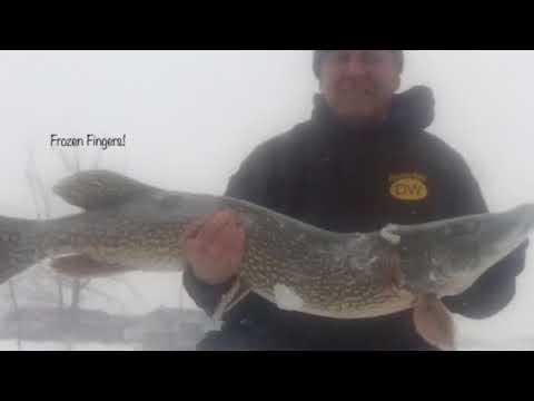 Darkhouse Spearfishing in ND, Ward County