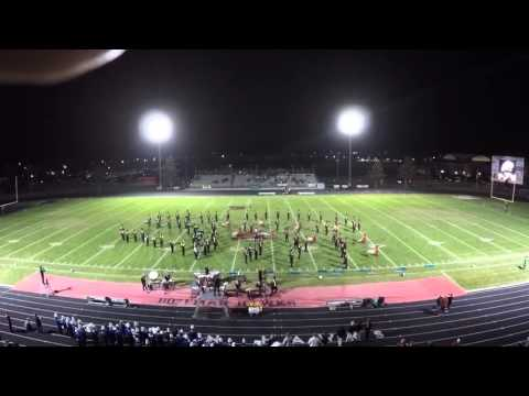 Bozeman High School - Marching Band - 23 Oct 2015