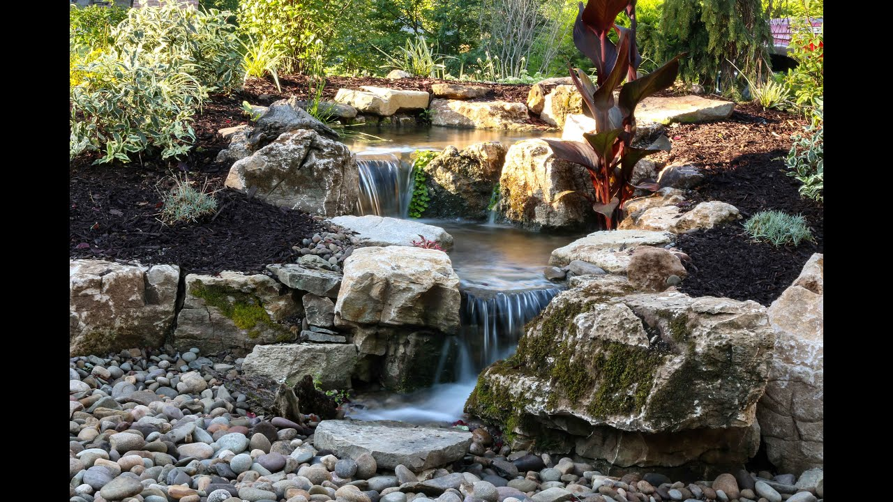 2 Pondless Waterfall Features Youtube