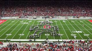 Ohio State Marching Band Wizard Of Oz Halftime 9 27 2014 OSU vs UC TBDBITL