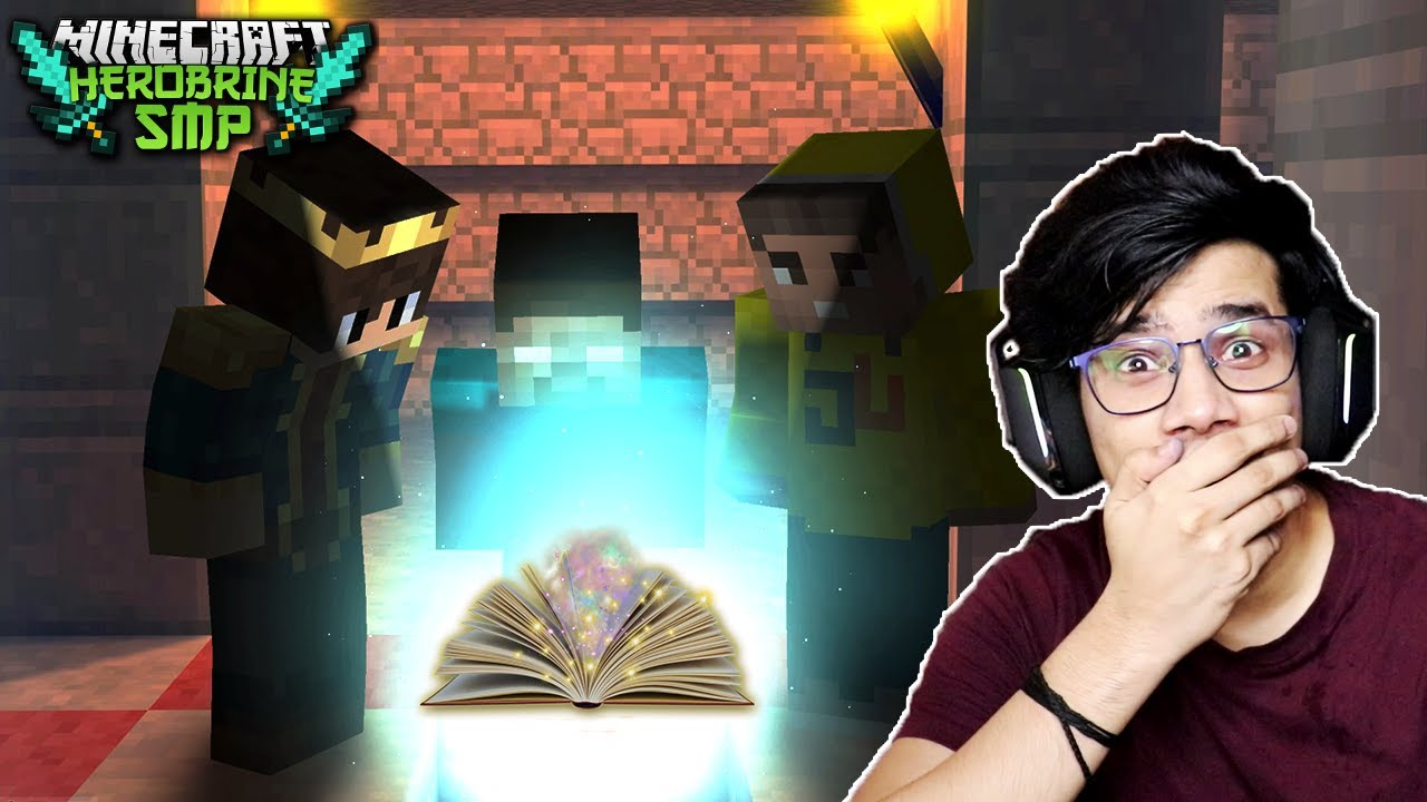 Mystery of The Secret Book In HEROBRINE SMP 😱