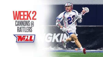 2019 MLL Week 2 Highlights: Cannons vs. Rattlers