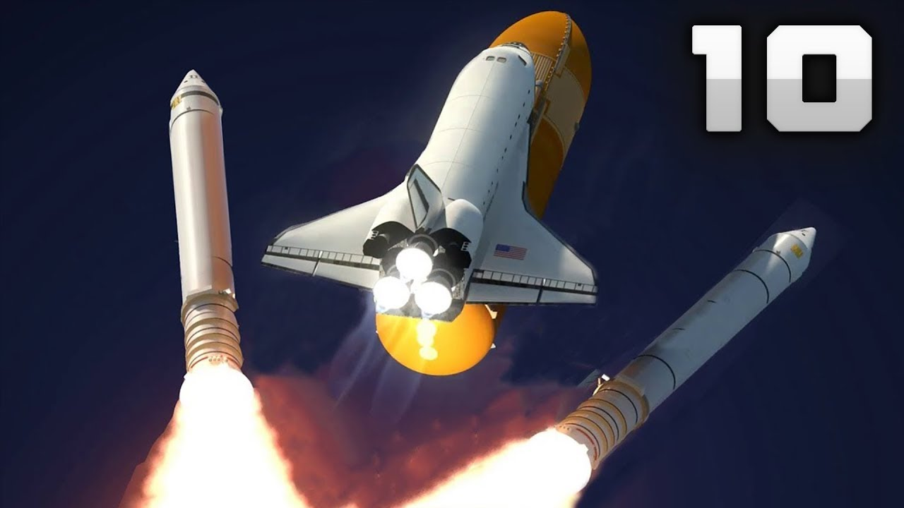 10 amazing space shuttle launch videos 4k youtube - 4k space shuttle ...