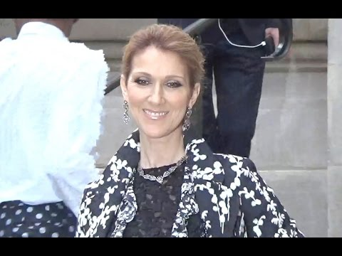 Céline DION @ Paris 4 july 2016 Fashion Week show Giambattista Valli / juillet