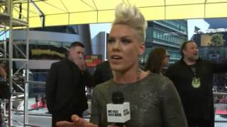 Download Pink Interview MTV vmas MP3 song and Music Video