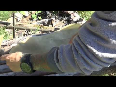 Native American Sinew Backed Bow. Part 2