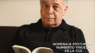 Homenaje póstumo a Humberto Vinueza en la Casa de la Cultura