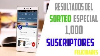 Resultados Del Sorteo | Especial 1,000 Suscriptores | Andro Speed