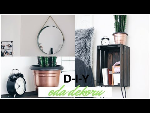 Kendin Yap - ODA DEKORU 2 / DIY ROOM DECOR 2018
