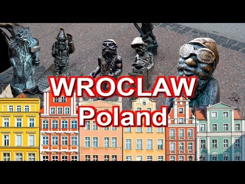 Audio visual guide for travelers in Wroclaw, Poland.
