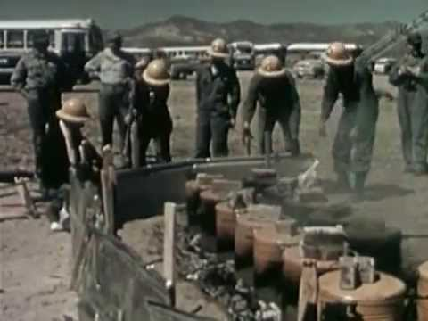 Atom bomb testing - Operation Cue (1955)