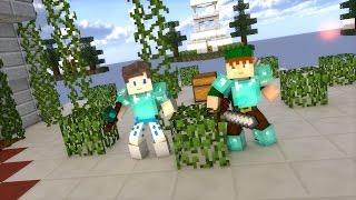 Minecraft PE 0.13.1 - NOVO SERVIDOR DE SKYWARS EM TIME ! (POCKET EDITION)