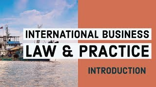 INTERNATIONAL BUSINESS LAWS & PRACTICE- Introduction to the subjects & exam pattern in Hindi